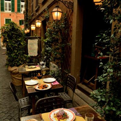 Cenare vicino Piazza Navona